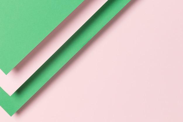 Armario de papel plano