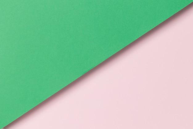 Armario plano de papel colorido