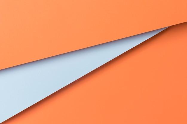 Armario plano de papel decorativo