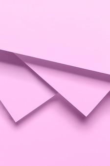 Armarios geomtricos rosados