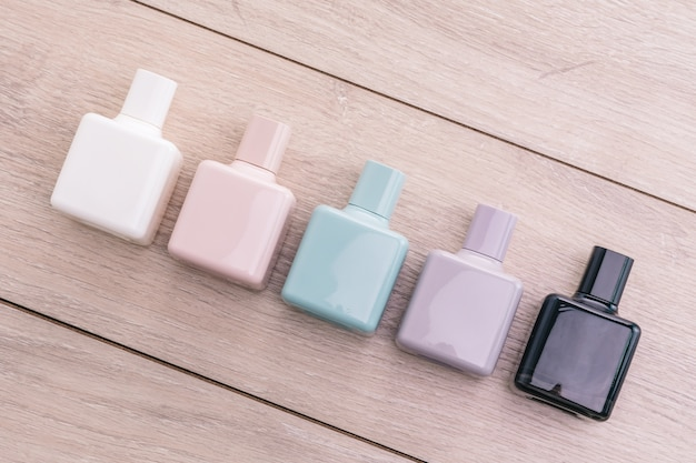 Aroma de colonia perfume elegante transparente