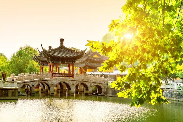 La arquitectura antigua china.
