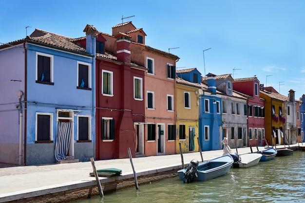 Arquitectura de casas coloridas