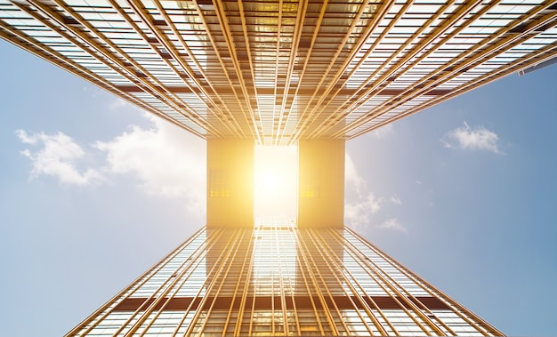 Arquitectura y cielo