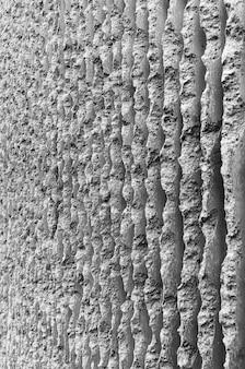Arquitectura de edificio de cemento concreto blanco y negro abstracto patrón de textura de elemento vertical