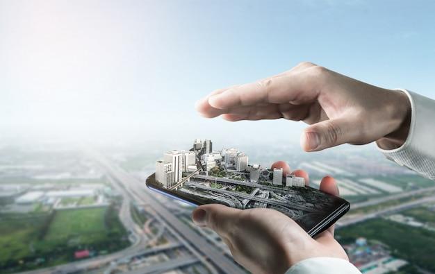 Arquitectura innovadora y plan de ingeniería civil.