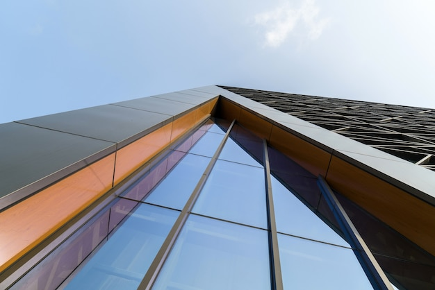 Arquitectura moderna del centro de arte en chongqing, china