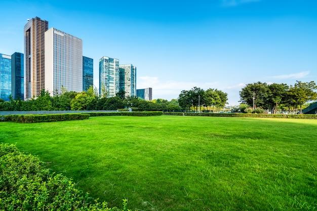 Arquitectura moderna del horizonte urbano