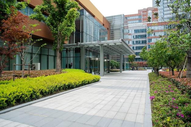 Arquitectura moderna en lujiazui, shanghai