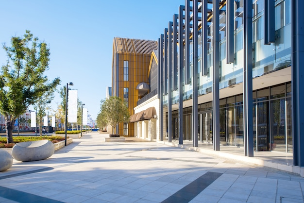 Arquitectura moderna en parque de innovación cultural