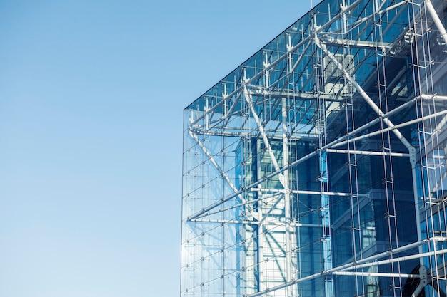 Arquitectura de vidrio moderna
