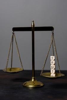 Arreglo del concepto de verdad con equilibrio