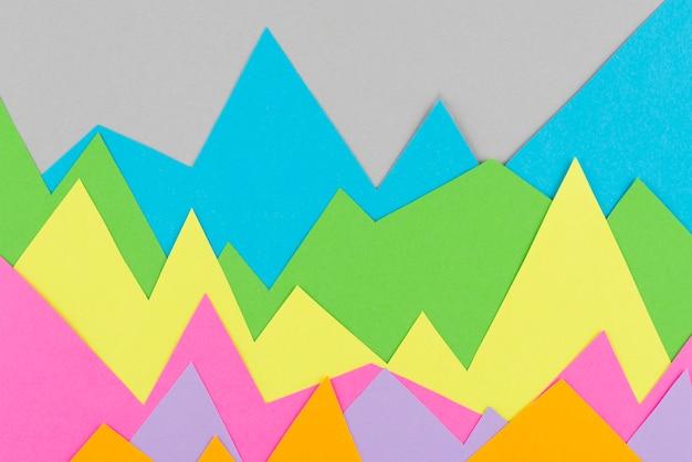 Arreglo de gráficos de papel de naturaleza muerta