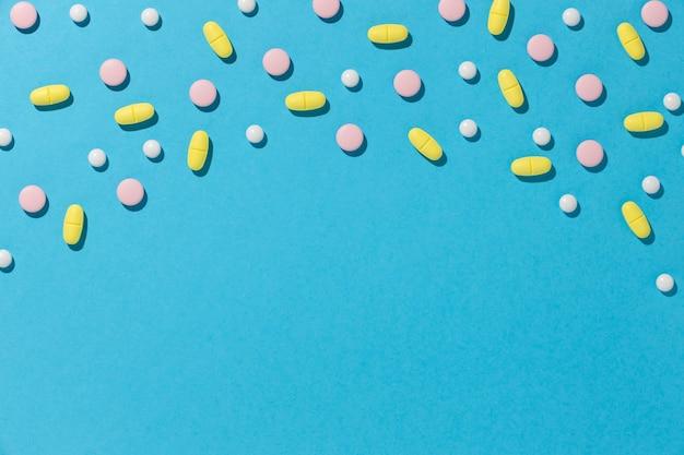 Arreglo mínimo de píldoras medicinales