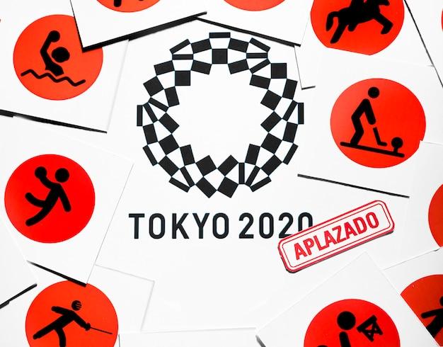 Arreglo pospuesto para el evento deportivo 2020