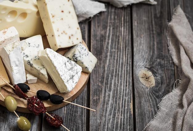 Arreglo de quesos gourmet