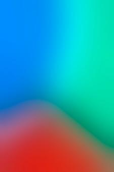 Arreglo tricolor en desenfoque