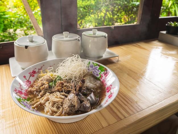 Arroz frito arroz hervido comida tailandesa desayuno popular desayuno asiático