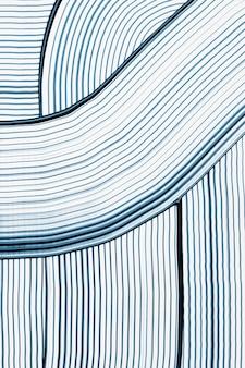 Arte abstracto azul fresco con textura de fondo patrón ondulado