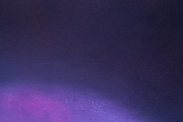 Arte abstracto colores azul marino y morado oscuro.