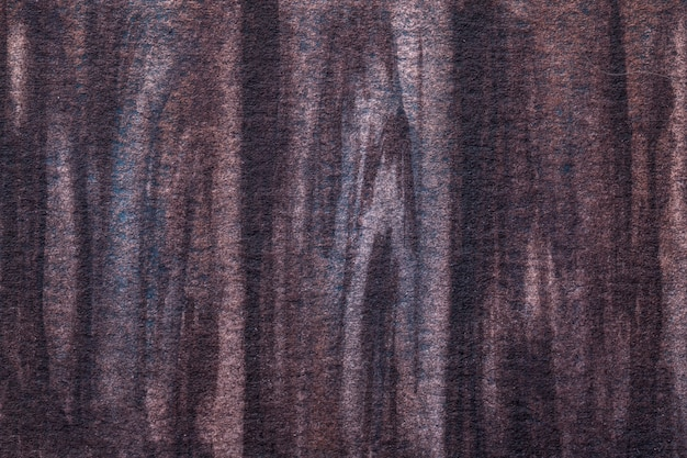 Arte abstracto colores marrón oscuro y violeta.