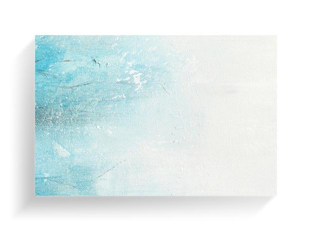 Arte abstracto de la pintura en fondo de la textura de la lona. imagen de primer plano.