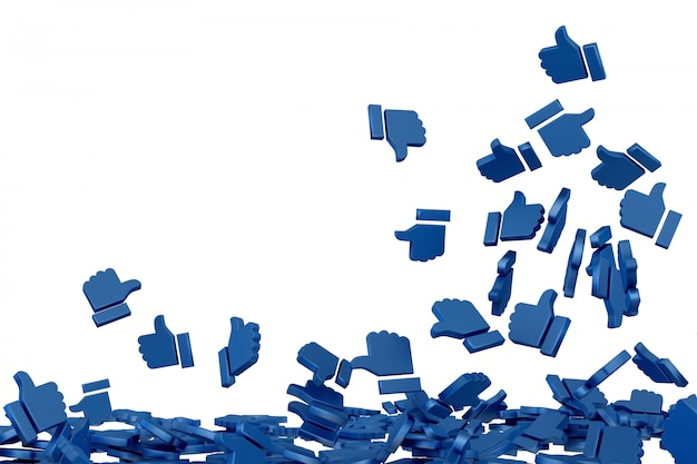 Arte conceptual en redes sociales.