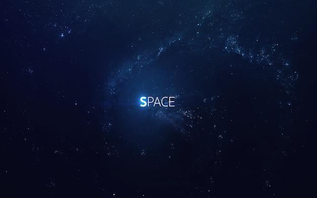 Arte cósmico, papel pintado de ciencia ficción