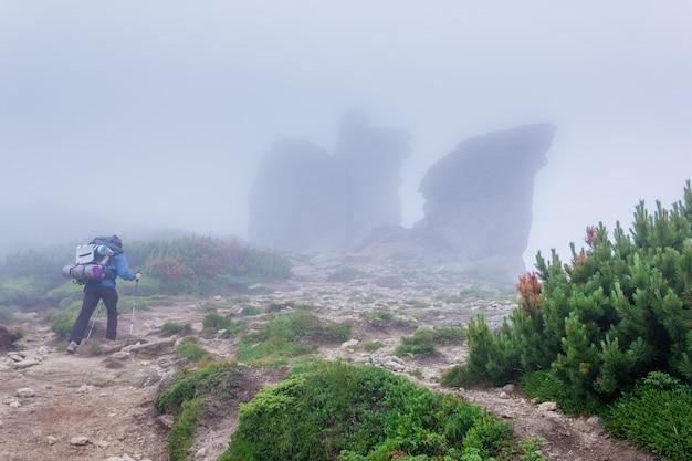 Ascenso de un turista