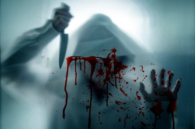 Asesino y cuchillo