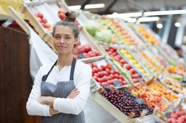 Asistente de tienda de comestibles