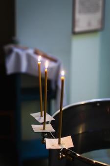 Atributos de un sacerdote ortodoxo para el bautismo.