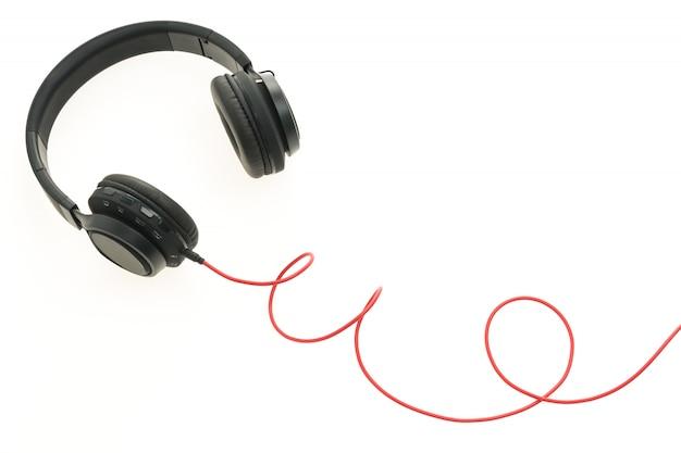 Auriculares de audio para escuchar