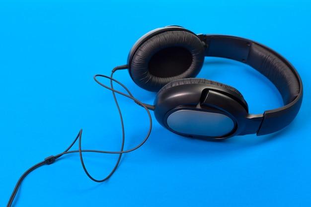 Auriculares en azul