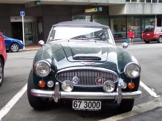 Austen iii heakley mk 1967, coche deportivo