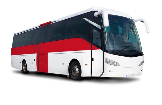 Autobús con bandera de inglaterra