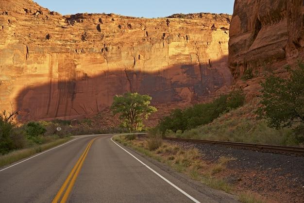Aventura del camino de utah