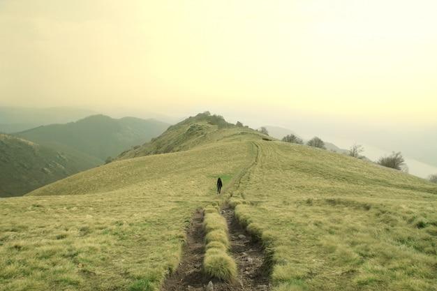 Aventura en la montaña.
