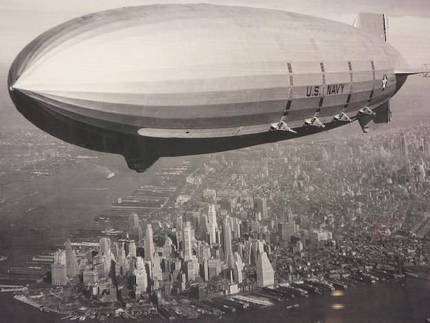Aviación new york zeppelin