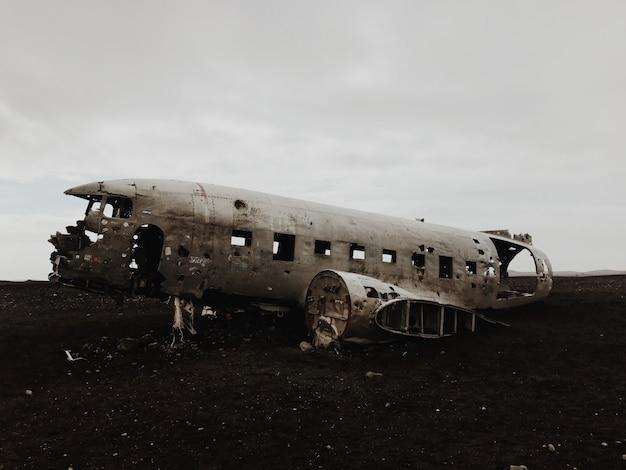 Avión dc-130 estrellado