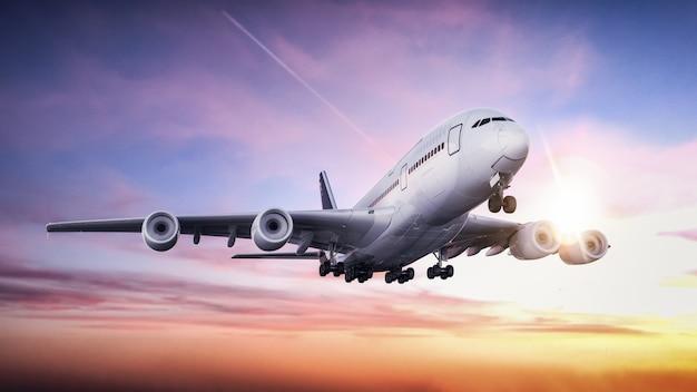 Avión despegando del aeropuerto