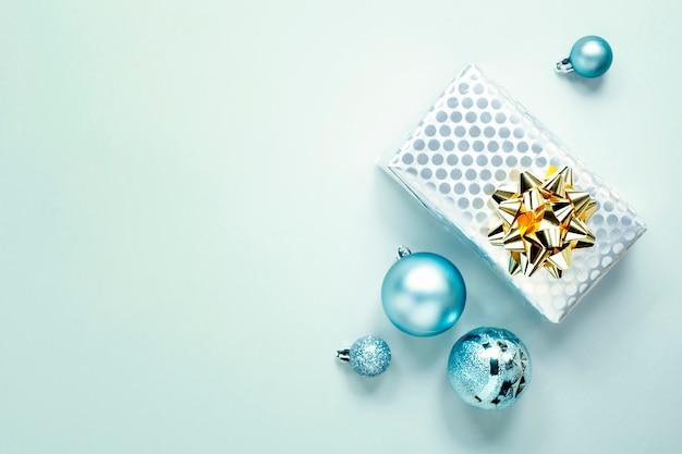 Azul navidad lay flat