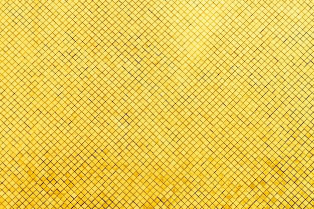 Azulejo de mosaico de oro