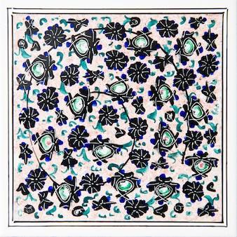 Azulejos de cerámica decorativos iraníes