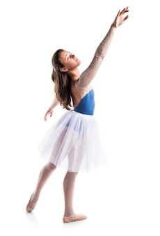 Bailarín de ballet adolescente