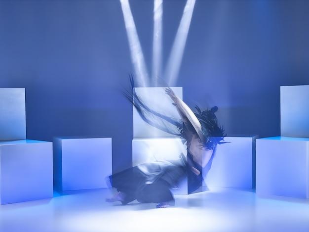 Bailarina de ballet moderno