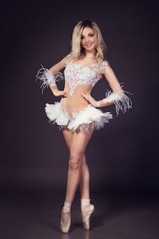 Bailarina - cisne blanco