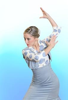 Bailarina flamenca de españa