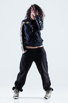 Bailarina de hip-hop