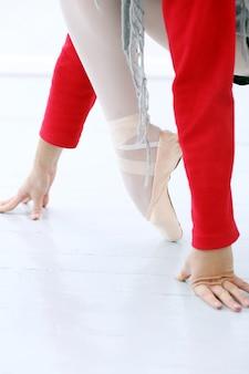 Bailarina trabajando